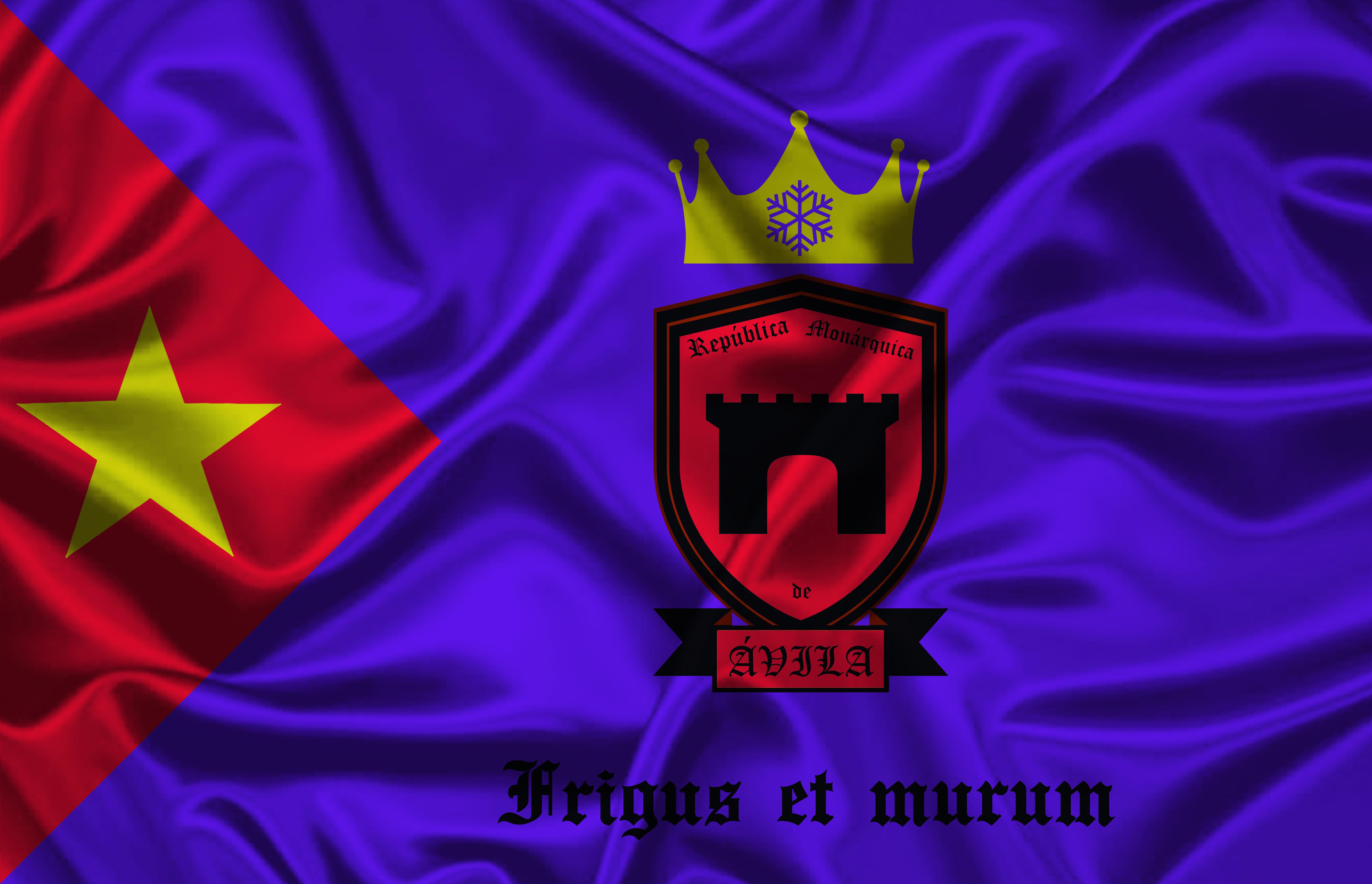 Bandera de la República Monárquica de Ávila