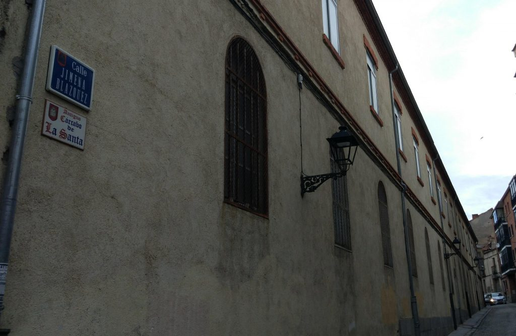 Calle Jimena Blázquez en Ávila