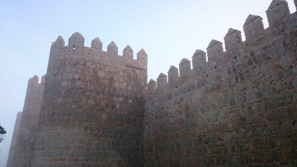 Muralla de Ávila por César Díez Serrano