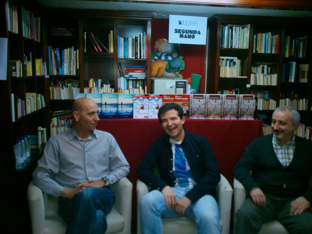 Alfredo Rodríguez, César Díez y Cristóbal Medina escritores abulenses